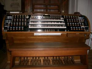 Kostel sv. Ignáce varhany